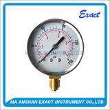 乾燥した圧力計-正常な使用のタイプゲージ-機械Bourdon管
