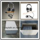 適用範囲が広いブームマイクロフォンが付いている試験ヘッドセットを取り消すAnrの航空ヘッドセットの実行中の騒音
