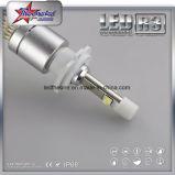 トヨタのための極度の明るいクリー族Xhp70 H7車LED軽い40W 4800lm 12V 24V H4車LEDのヘッドライト
