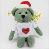 Urso de peluche personalizado de Natal
