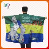 Подгонянная плаща-накидк флага тела для спортов Гуанчжоу (HYFC-AF011)