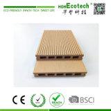 Деревянная пластичная составная искусственная плитка Decking настила