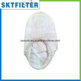 Saco de filtro líquido do anel de aço material dos PP