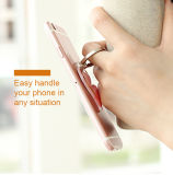 2017 precio al por mayor 3 ultra finos en 1 caso elegante de la parte posterior del teléfono celular de Kickstand del anillo para el iPhone 6 para Samsung