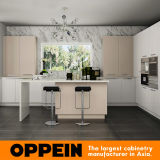 Oppein heißer Verkaufs-helle Farben-hölzerner Küche-acrylsauerschrank (OP15-A04)