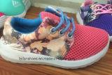 Último projeto barato crianças Calçado de desporto (calçado de injecção OEM FF1031-1)