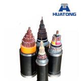 Cable de transmisión acorazado de la base del cable 5 de XLPE/Swa/PVC XLPE