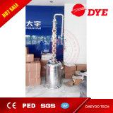 50L/100L/150L/200L todavía se dirigen a destilador del alcohol con las placas de la columna del cobre