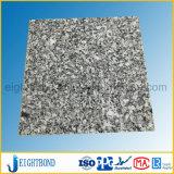 Nouveau panneau alvéolaire en aluminium de granit pour l'extérieur de porte automatique