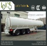 Brandstof/Olie/de Vloeibare Semi Aanhangwagen 42000L van de Tanker - 6