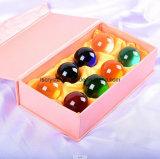 40mm sfera della radura di cristallo di sette colori per la decorazione