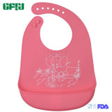 BSCI 제조자 아기 착용 제품 잘게 부순 것 캐처를 가진 유기 FDA/LFGB 실리콘 아기 수도꼭지