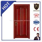 Двери декоративной домашней двери деревянные твердые
