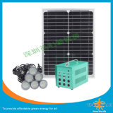 Kits solares de la iluminación con la lámpara de 8PCS 3W LED
