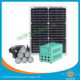 Solarbeleuchtung-Installationssätze mit 8PCS 3W LED Lampe