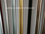 6063extruded Al-T5 / T6 del molino del final / del color de la aleación hoja / placa / perfil de la banda de madera del grano