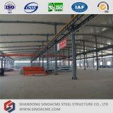 Sinoacme는 다중 경간 금속 프레임 플랜트 건물을 조립식으로 만들었다