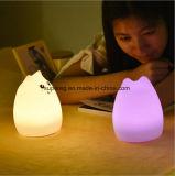 Licht buntes nettes Silikontierdes portable-LED