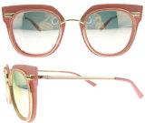 Vidros de Sun clássicos do desenhador do tipo dos óculos de sol do olho de gato das mulheres