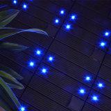 Système interactif d'étage de vinyle de claquement de cliquetis de tuiles de panneau d'étage d'éclairage LED de stratifié d'épreuve de glissade de patio de technologie neuve