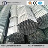 Tubulações galvanizadas da construção de aço do soldado do MERGULHO quente do fabricante Q235 para a estufa