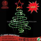 Weihnachtsbaum-Motiv-Licht des Feiertags-helles Lieferanten-LED 2D für Innen- und im Freiendekoration