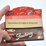 El papel de balanceo que fuma raya el papel de balanceo tamaño pequeño para el embalaje del cigarrillo