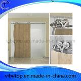 Casa de porta de celeiro de madeira sólida interior