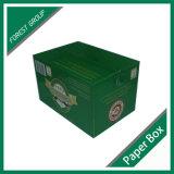 Коробка вина картона офсетной печати Cmyk