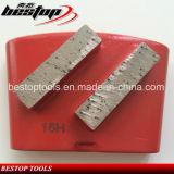 Плита кирпичей конкретного пола диаманта HTC меля меля