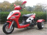 Zhenhua 50XのオートバイEEC Euro4 50cc 4strokesのElecキックスタートディスクTrike