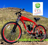 Réservoir de gaz construit dans le bâti de bicyclette, bâti de vélo de gaz de 26 pouces, bâti 2.4L