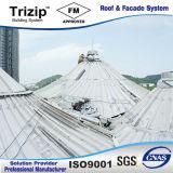 Strato di alluminio del tetto di Tepered per la città dello studio