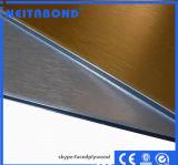 ACP de PVDF avec l'épaisseur de 4mm utilisée sur la décoration extérieure
