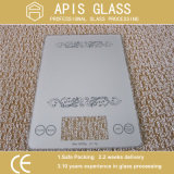 Compatible con RoHS seda serigrafiada de cerámica de vidrio cristal /pintura