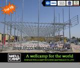 2개의 지면 타이란드 프로젝트에 있는 이동할 수 있는 모듈 Prefabricated 집 강제노동수용소 설비