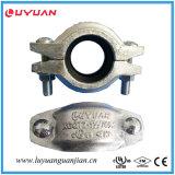 Té réducteur fileté malléable de fer FM d'homologation cotée de l'UL 114.3*33.7