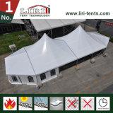 خارجيّة بيضاء سقف [هي بك] خيمة لأنّ حزب في [فمووس] أوروبا فندق