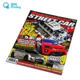 A4 a cores de impressão da revista mensal