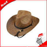 Chapéu de Palha de girassol Cowboy Chapéu de Palha Natural