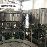 Sunswell PE jus en bouteille de lavage automatique plafonnement de la machine de remplissage