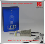La prova H8 LED CREE Xhp50 faro dell'automobile 4800lm 6000k 40W Acqua
