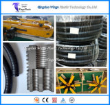 20-30m/min haute vitesse PA PE PP PVC souple à paroi simple tuyau ondulé Making Machine