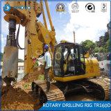 Plate-forme de forage rotatoire de TR160D de matériel de construction de base
