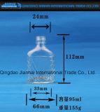 Quadratische kleine Datenträger-Bierflasche-Glaswaren