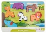 Hölzernes Puzzlespiel für Kleinkinder 1 Einjahres- u. 2 Einjahres