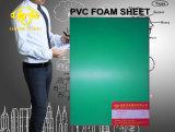 Feuille de mousse PVC vert pour la table