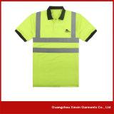Camisas de trabalho do polo reflexivo feito sob encomenda da roupa do Vis do Workwear olá! (P31)
