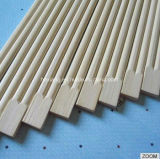 23cm Papel personalizado impreso / plástico envuelto palillos de bambú