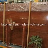 Wooden naturale Grain Red Marble per Slab, Tile, Countertop, Floor